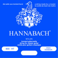 Hannabach, Special, Silver, Plated, 800HT, High, Tension, Nylon, Classical, Guitar, Strings