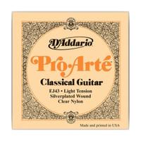 D'Addario, EJ43, 27.5-42, Pro-Arte, Light, Nylon, Classical, Guitar, Strings