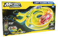 Micro Chargers Light Racers Track Playset 27029