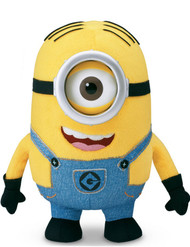 "Despicable Me 2 Deluxe Plush Minion Stuart 9"" 20041"