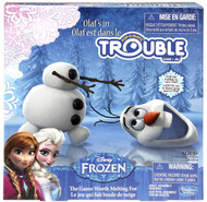 Disney Frozen Olaf's in Trouble Pop-O-Matic Board Game By Hasbro