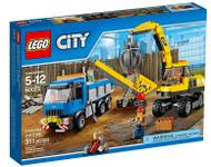 Excavator and Truck Lego