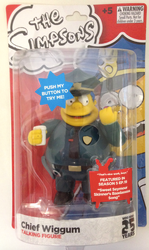 The Simpsons Chief Wiggum 25 Year Anniversary Talking Figure