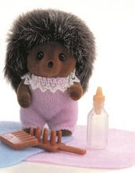 Sylvanian Families Hedgehog Baby Girl
