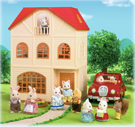Sylvanian Families Cedar Terrace + FREE Walnut Squirrel