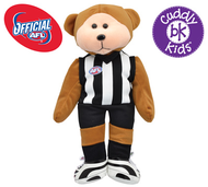 AFL Beanie Kid Bear - Collingwood