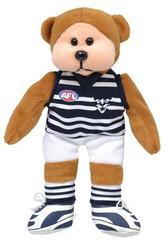 AFL Beanie Kid Bear - Geelong Away