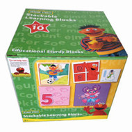Sesame Street Stackable Learning Blocks