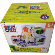 Very Hungry Caterpillar Stackable Learning Blocks