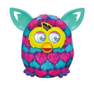 Furby Boom Pink and Blue Hearts by Hasbro