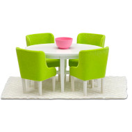 Smaland Dining Room Set by Lundby 60.2054