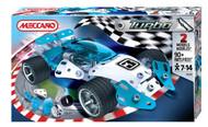 Meccano Medium Turbo Car Blue 884353B