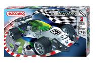 Meccano Medium Turbo Car Green 884353A