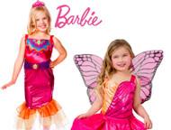 Barbie Mermaid Tale Costume Size 3-5 + Free Barbie Mariposa Costume with Tutu (136/01271, )