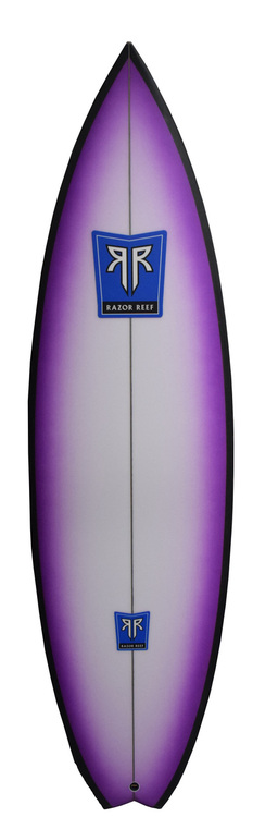 Razor Reef Surfboards - Purple People Eater