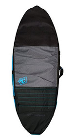 Creatures of Leisure Skimboard Day Use Cover Bag Charcoal Cyan 58in
