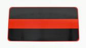 Redline Identifier License Plate Tag