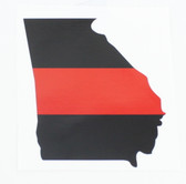 Redline Identifier Sticker - State of Georgia