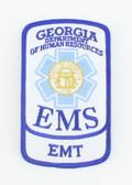 Georgia EMS Patch - EMT Rocker