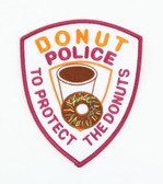 Donut Police Patch - To Protect the Donuts