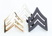 Sergeant Rank Chevron - Collar Insignia