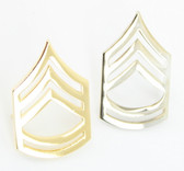 Sergeant First Class Rank Chevron - Collar Insignia