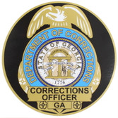 Georgia Department of Corrections Decal - Color Badge