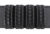 """Molded Belt Keepers - Uncle Mike's 4 Pack - 2 1/4"""" - Basketweave"""
