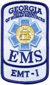 Georgia EMS Patch - EMT-I Rocker