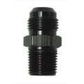 "Big End Performance -12 AN Male To 3/4"" NPT Straight Black Each 14296"