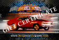 $100 GIFT CERTIFICATE for DRAG RACE CAR PARTS STORES for $90.00 CHRISTMAS SPECIAL