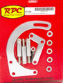 RPC Chrome 1955-68 SB Chevy 283-350 Low Mount Alternator Bracket R7758