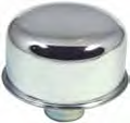 Big End Performance Chrome Push In Breather Cap BEP70135