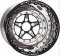 Billet Specialties Comp 5 Series Black Double Beadlock Wheels BCD035156550