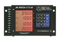 Digital Delay Mega 475 Delay Box Mega Dial Controller DUAL VIEW CHROME Board 1095BR-C-LED COLOR-DV (BLACK CASE with RED DISPLAY)