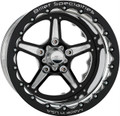 Billet Specialties Street Lite Black Double Beadlock Wheels BRDB35126165