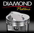 Diamond Racing Products Pistons LS1 Dished Piston Set 4.125 Bore 4.000 Stroke 11577-R1-8