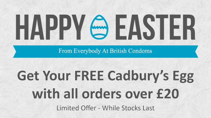 Free Cadburys Egg with all order's over £20