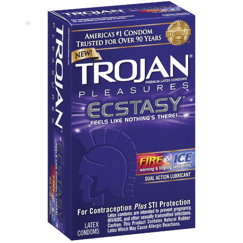 Trojan Ecstasy Fire and Ice (10 Pack)