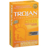 Trojan Intense Ribbed Condoms