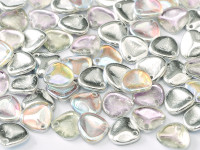 Rose Petals - Crystal Silver Rainbow