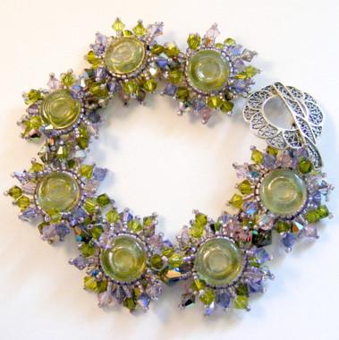 Oh, So Gorgeous!  Green Iris sample