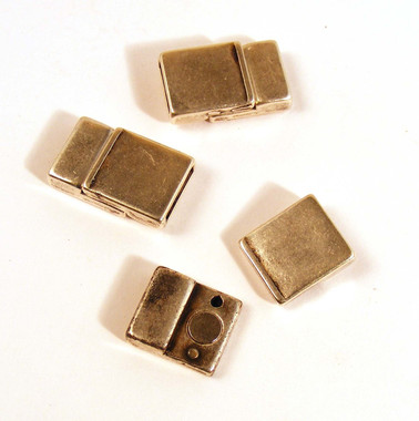 Basic Magnetic Clasp AS for flat leather