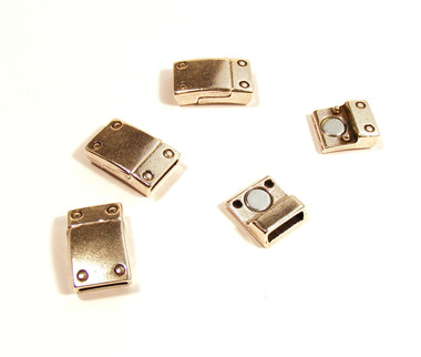 Rivet Magnetic Clasp AS for flat leather
