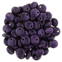 6mm Lentil - Chrome Purple