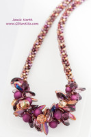 Amethyst Inferno Necklace Kit
