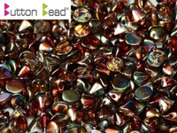 Button Beads - Crystal Magic Wine