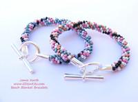 Beach Blanket Kumihimo Bracelet Layout