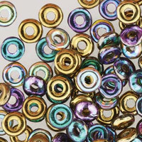 O Beads - Crystal Golden Rainbow
