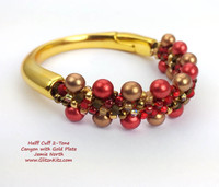 Half-Cuff 2-Tone Bracelet Kit